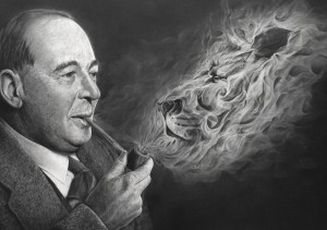 Lewis with Lion